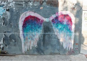 Angel Wings Wall Mural Los Angeles 1357 U Street Nw Washington Dc