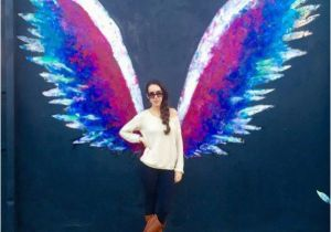 Angel Wings Wall Mural Los Angeles Best Instagram Spots In Los Angeles