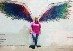 Angel Wings Wall Mural Los Angeles Colette Miller Angel Wings Mural In La at 950 Vine St Los