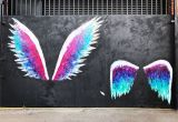 Angel Wings Wall Mural Los Angeles More Angel Wings City Angels La