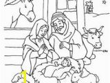 Angels Announce Jesus Birth Coloring Pages Free Printable Christmas Coloring Pages Religious