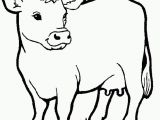 Animal Coloring Pages Printable Cow Animals Coloring Pages for Kids Printable Coloring Animal