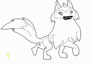 Animal Jam Arctic Wolf Coloring Pages Animal Jam Arctic Wolf Coloring Pages Sketch Coloring Page