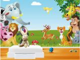 Animal Murals for Walls 3d Room Wallpaper A Wall Custom Mural Animal Paradise Children S Room Home Decor Background 3d Wall Murals Wallpaper for Walls Mobile