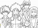 Anime Coloring Pages My Hero Academia My Hero Academia Coloring Pages Coloring Home