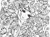 Anime Girl Coloring Pages Anime Color Pages