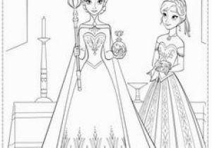 "Anna and Elsa Coloring Pages Online 106 Best Disney S ""frozen"" Printables Images On Pinterest"