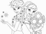 Anna and Elsa Coloring Pages Online Gratis Malvorlagen Elsa Und Anna