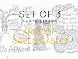 Anne Of Green Gables Coloring Pages Adult Coloring Pages Anne Of Green Gables Digital Coloring
