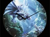 Anne Stokes Wall Murals Wanduhr Age Of Dragons Water Dragon