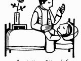 Anointing Of the Sick Coloring Page Catholic Priest Drawing at Getdrawings