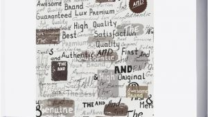 Another Word for Wall Mural Grunge Hipster Pattern with Different Words and Signatures Wall Mural
