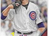 Anthony Rizzo Coloring Pages Jon lester 2016 topps Opening Day Chicago Cubs Card Od 95