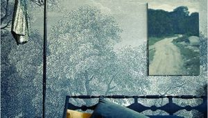 "Anthropologie Wall Mural Landscape On A Landscape ""etched Arcadia"" Wallpaper From"