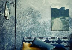 """Anthropologie Wall Mural Landscape On A Landscape """"etched Arcadia"""" Wallpaper From"""