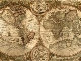 Antique Map Wall Mural Wallpapers for Vintage Map Wallpaper Hd
