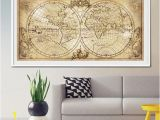 Antique World Map Wall Mural Antique World Map Mural 19 Best Vintage World Map