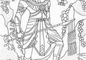 Anubis Coloring Page 965 Best Coloring Pages Images On Pinterest