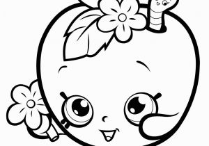 Apple Blossom Shopkin Coloring Page Free Downloadable Coloring Pages From Disney Elegant Fruit Apple