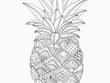 Apple Coloring Pages for Adults Fruits Coloring Pages Printable Pineapple Coloring Page
