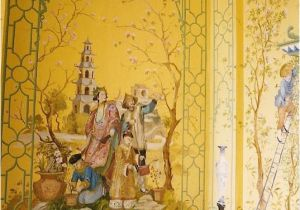 Architectural Wall Murals 爱 Chinoiserie Mais Qui 爱 Home Decor In Chinese Chippendale Style