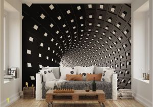 Architectural Wall Murals Ohpopsi Abstract Modern Infinity Tunnel Wall Mural Amazon