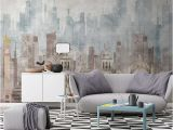 Architectural Wallpaper Murals Modern Wall Paper Geometric Architecture Wallpaper Mural Carta