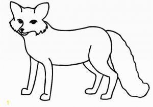 Arctic Animals Coloring Pages Fox Coloring Pages