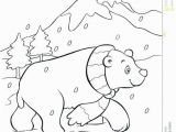 Arctic Animals for Kids Coloring Pages Polar Bear Coloring Pages Awesome Graffitiraw Kidscoloring