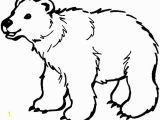 Arctic Animals for Kids Coloring Pages Polar Bear Coloring Pages Printable Polar Bear Coloring