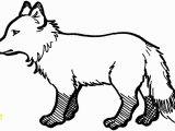 Arctic Fox Coloring Pages Arctic Fox Coloring Page – Nlli Coloring