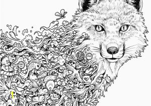 Arctic Fox Coloring Pages Arctic Fox Coloring Pages Beautiful Fennec Fox Coloring Page Fox