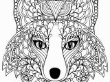 Arctic Fox Coloring Pages Coloring Page Beutiful Fox Head Free to Print