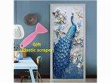 Are Wall Murals Tacky Kelai & Craft Art Decor 3d Door Wall Mural Decals Self