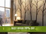 Are Wall Murals Tacky Winter Tree Wall Decal Living Room Wall Decals Wall