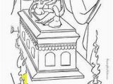 Ark Of the Covenant Coloring Page 41 Best Bible Lessons Images