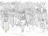 Ark Of the Covenant Coloring Page King David Dancing before the Ark Of the Covenant Coloring