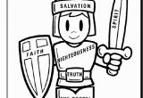 Armor Of God Coloring Pages Armor God Activity Coloring Pages