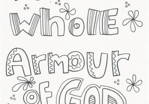 Armor Of God Coloring Pages Armor God Coloring Pages New 11 Best Armor God Bible Crafts