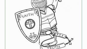 Armor Of God Coloring Pages Pdf Armor Of God for Kids Coloring Page Activity