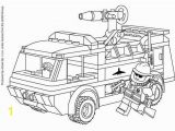 Army Truck Coloring Page Lego Fire Truck