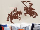 Army Wall Murals Knight Warrior Wall Sticker Kids Room Living Room Lego Me Val