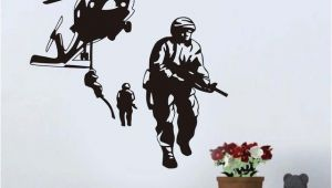 Army Wall Murals New Helicopter Army Wall Sticker Marines Stickers Adhesive Vinly
