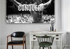 Arnold Schwarzenegger Wall Mural 2019 8 3conquer Arnold Schwarzenegger Bodybuilding Motivational