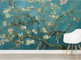 Art Deco Wall Mural Van Gogh Wallpaper