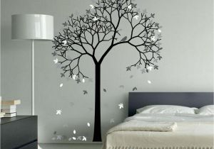 Aspen Tree Wall Mural aspen Tree Wall Decal Sticker Vinyl Nursert Art Leaves and Birds