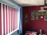 Aston Villa Wall Mural Multi Coloured Vertical Blinds Football aston Villa Kids