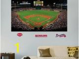 Atlanta Braves Wall Mural 73 Best Bonus Room Images