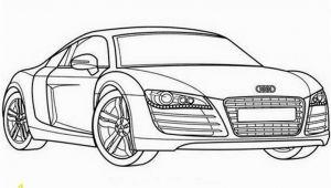 Audi R8 Coloring Page Ausmalbilder Audi R8