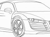 Audi R8 Coloring Page Car Free Clipart 299